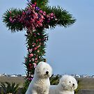 Easter Puppies by Kathy Baccari