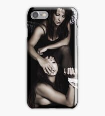 Courtney and Tanina iPhone Case/Skin