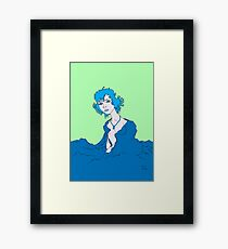 Thought study Framed Print