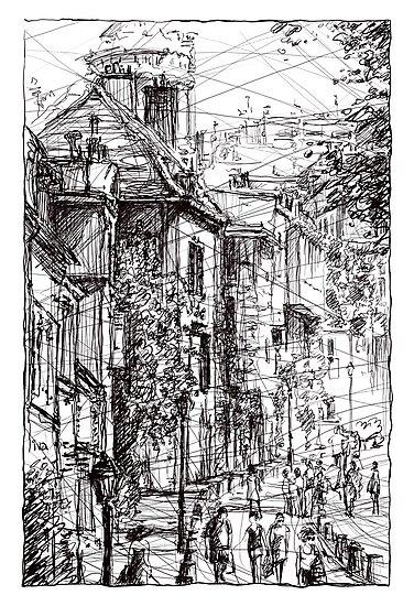 Montmartre 15 by Tatiana Ivchenkova