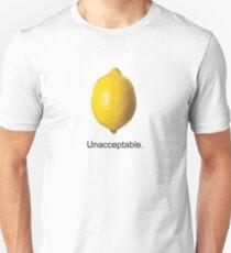 Unacceptable. T-Shirt