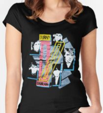 DURANDURAN Women's Fitted Scoop T-Shirt