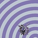 Pokemon - Cloyster Circles iPad Case by Aaron Campbell