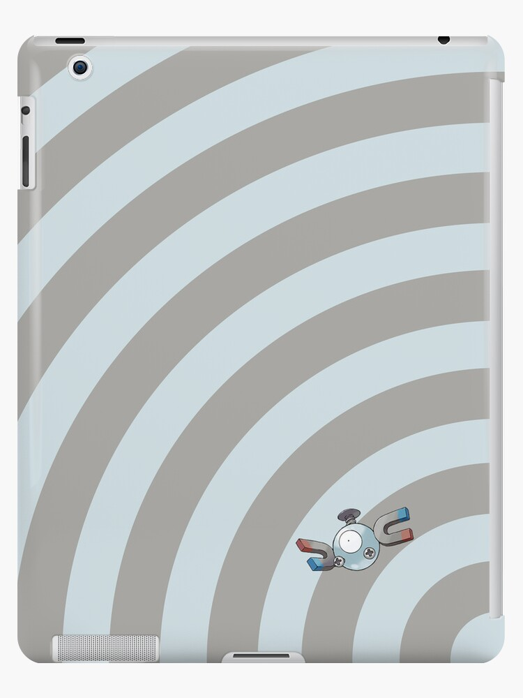 Pokemon - Magnemite Circles iPad Case by Aaron Campbell