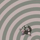 Pokemon - Golem Circles iPad Case by Aaron Campbell