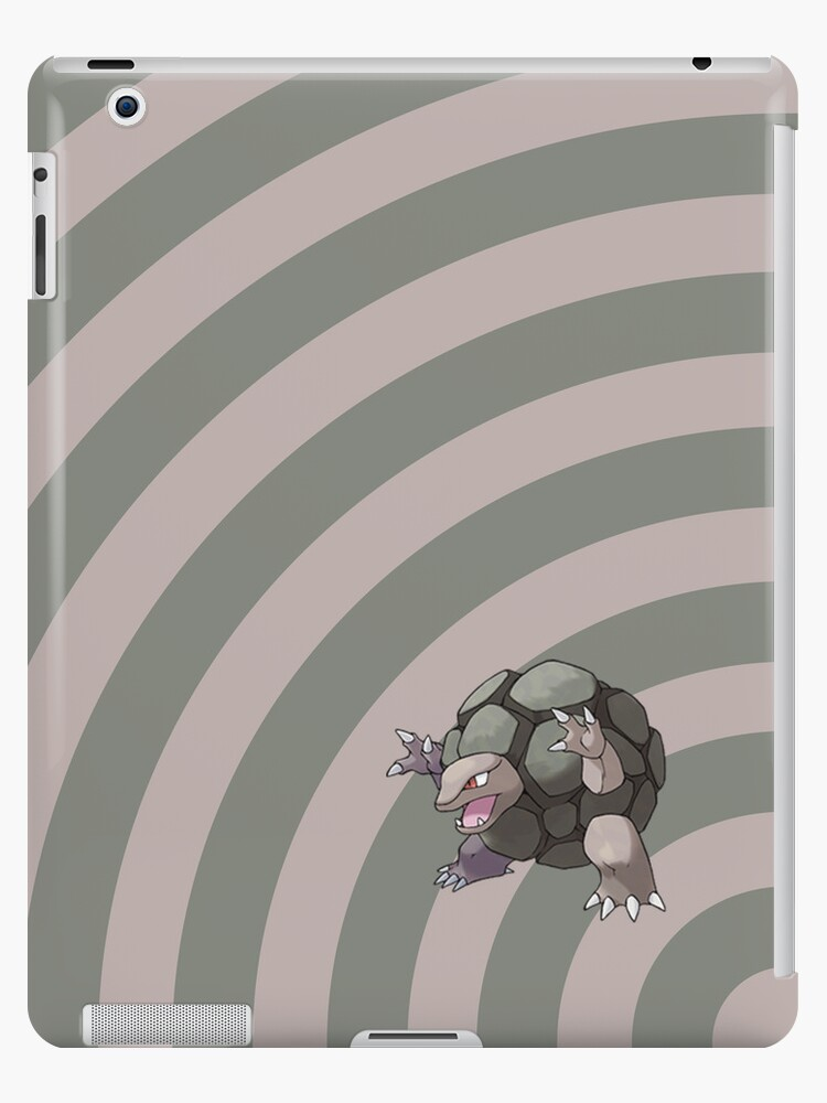 Pokemon - Golem Circles iPad Case by Aaron Campbell
