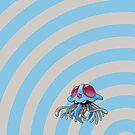 Pokemon - Tentacruel Circles iPad Case by Aaron Campbell