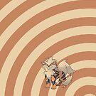Pokemon - Arcanine Circles iPad Case by Aaron Campbell