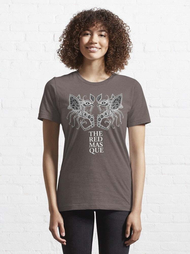Alternate view of The Red Masque Psychedelic Insect Tee Essential T-Shirt