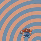Pokemon - Gloom Circles iPad Case by Aaron Campbell