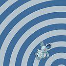 Pokemon - Nidorina Circles iPad Case by Aaron Campbell