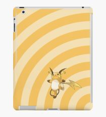 Pokemon - Raichu Circles iPad Case iPad Case/Skin