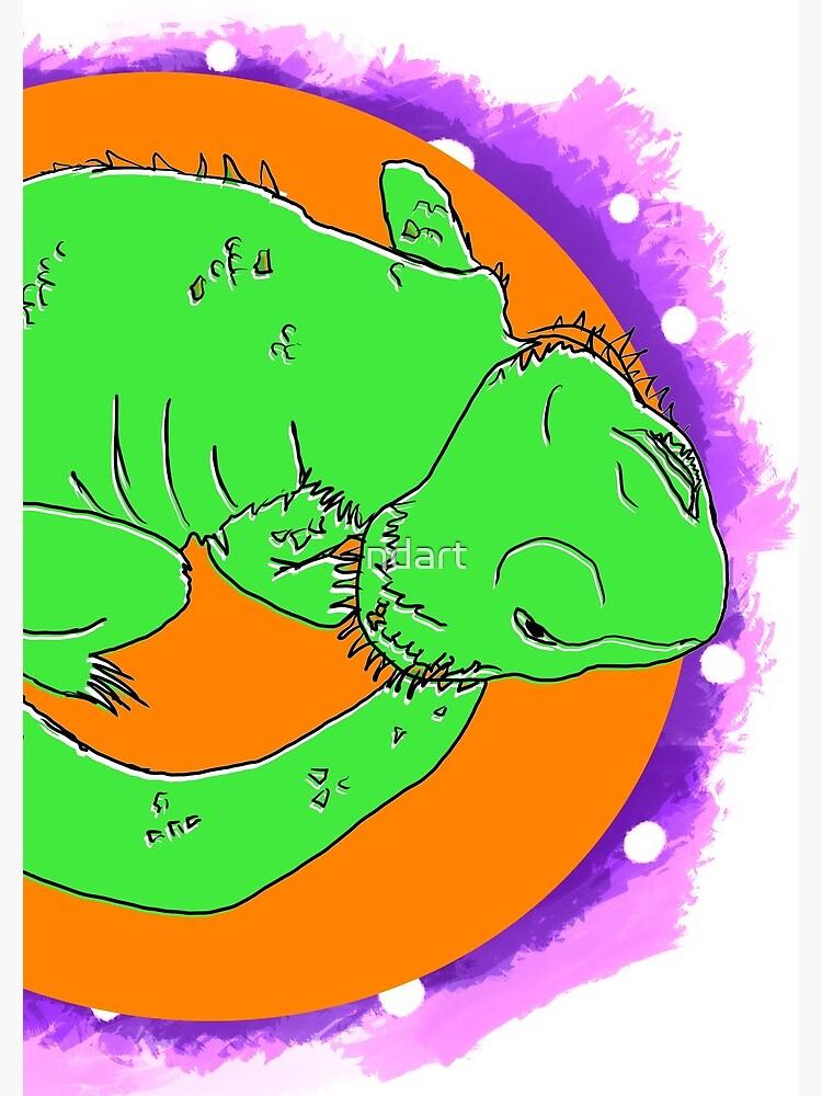 Space Dragon by ndart