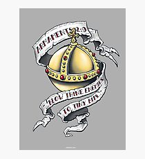 The Holy Hand Grenade Photographic Print