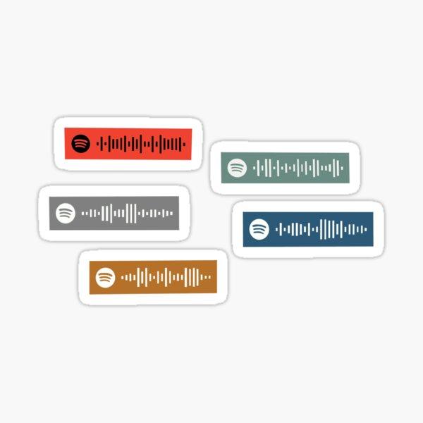 Ruel Ready EP Spotify Scan Code  Sticker