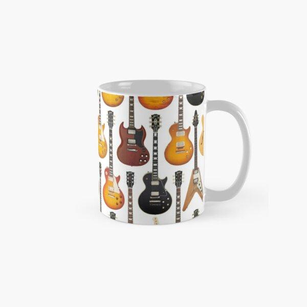 Vintage Gibson Guitar Collection Classic Mug