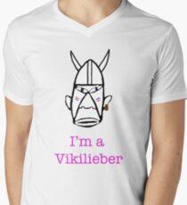 I'm a Vikilieber Mens V-Neck T-Shirt