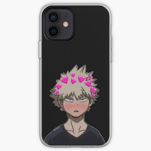 bakugo mignon et confus Coque souple iPhone