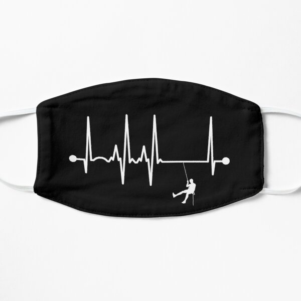 Abseiling Heartbeat Mask