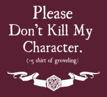 +5 Shirt of Groveling - For Dark Shirts | Unisex T-Shirt