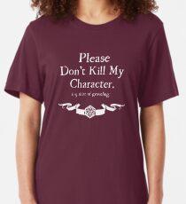 +5 Shirt of Groveling - For Dark Shirts Slim Fit T-Shirt