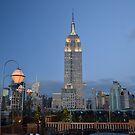 Empire State Building, NYC by Nina Brandin