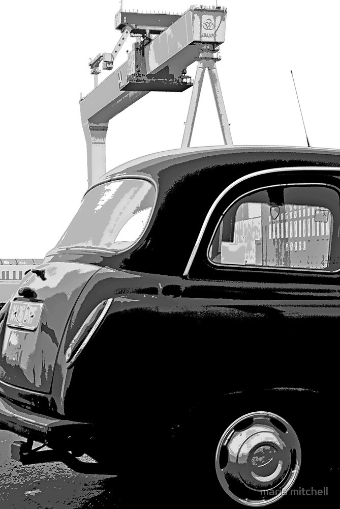 Belfast Black Taxi Service by maria mitchell