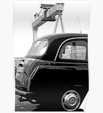 Belfast Black Taxi Service Poster
