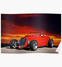1933 Ford Custom Roadster I Poster