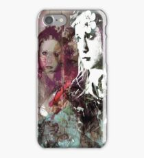 vintage girl  iPhone Case/Skin