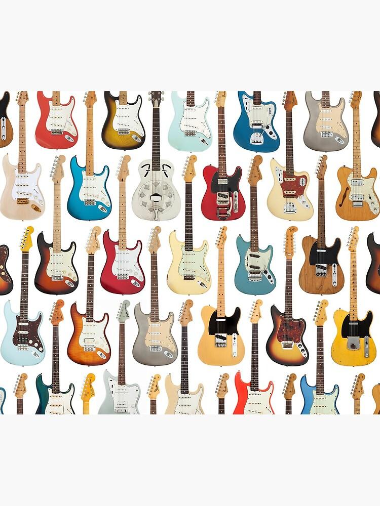 Vintage Fender Guitar Collection by artboy213