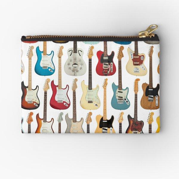 Vintage Fender Guitar Collection Zipper Pouch