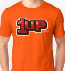 1up - Gamer Video Games Geek T-Shirt