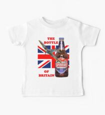 The  Bottle Of Britain Tee Shirt Kids Clothes