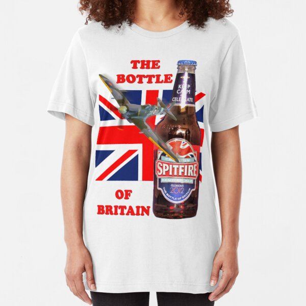 The  Bottle Of Britain Tee Shirt Slim Fit T-Shirt