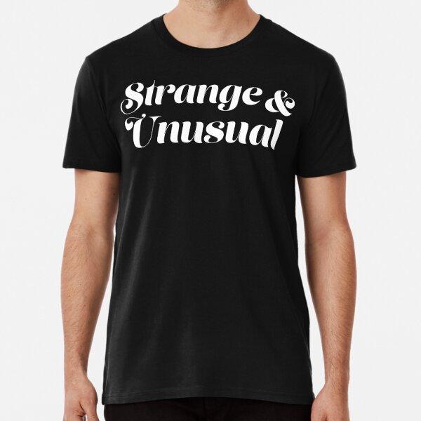 Strange and Unusual Beetlejuice Premium T-Shirt