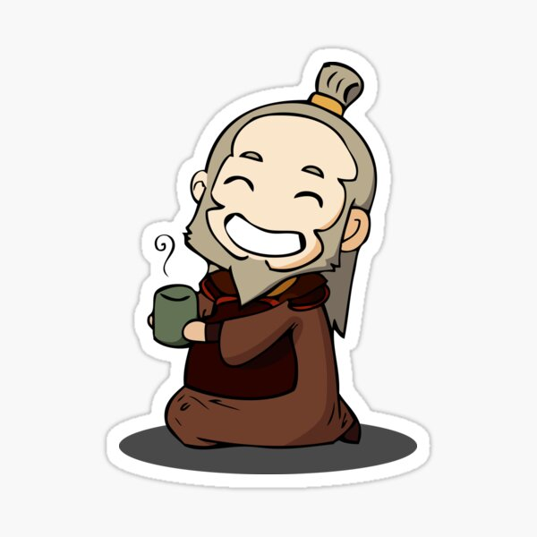 Uncle iroh Sticker