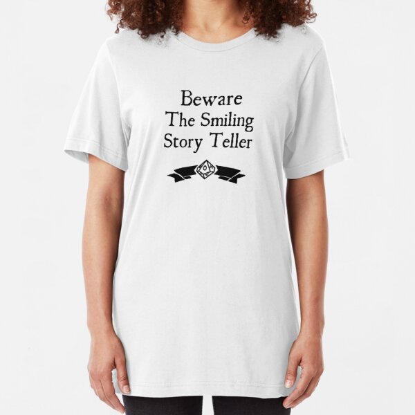 World of Darkness - Beware the Smiling Story Teller Slim Fit T-Shirt