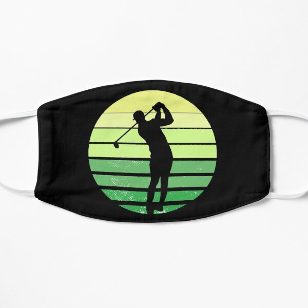 Golfer Doing a Swing Mask