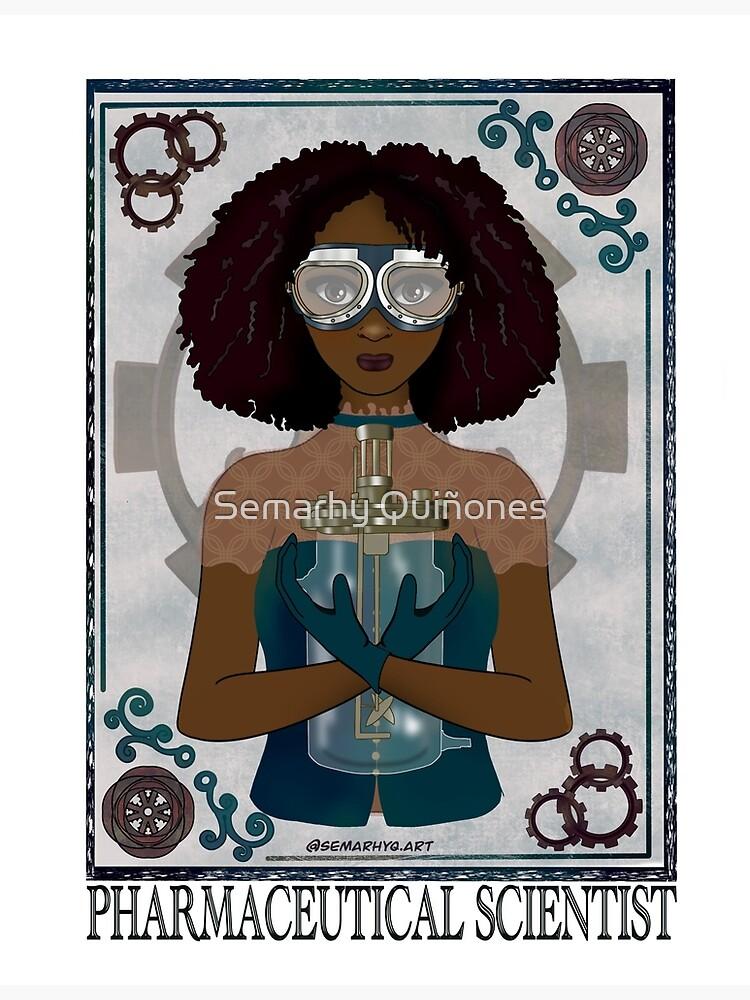 Pharmaceutical Scientist (STEAMpunk Art) by semarhy