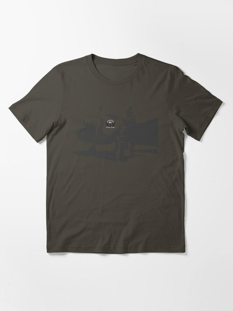 Alternate view of Aviation RC Pilots Club Plane Essential T-Shirt