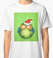 Funny Santa Owl Classic T-Shirt