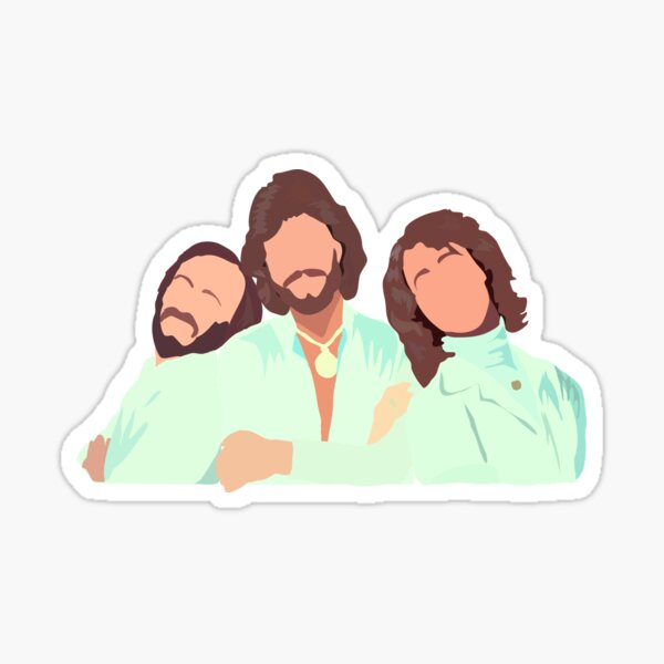 BeeGees Sticker