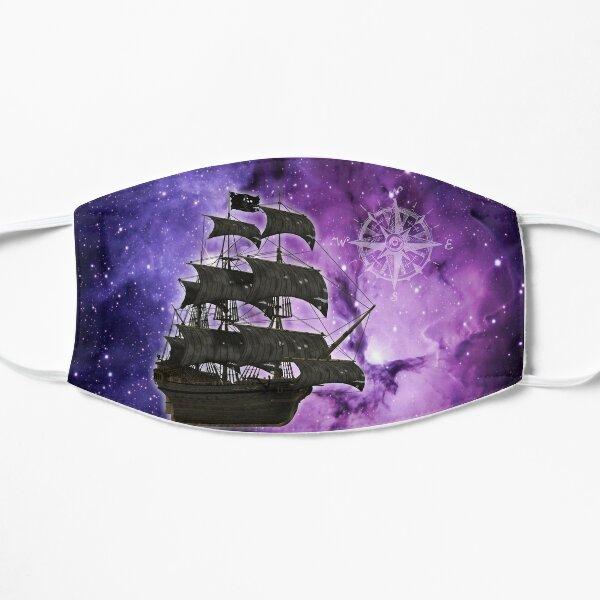 Bateau fantôme pirate violet Masque sans plis