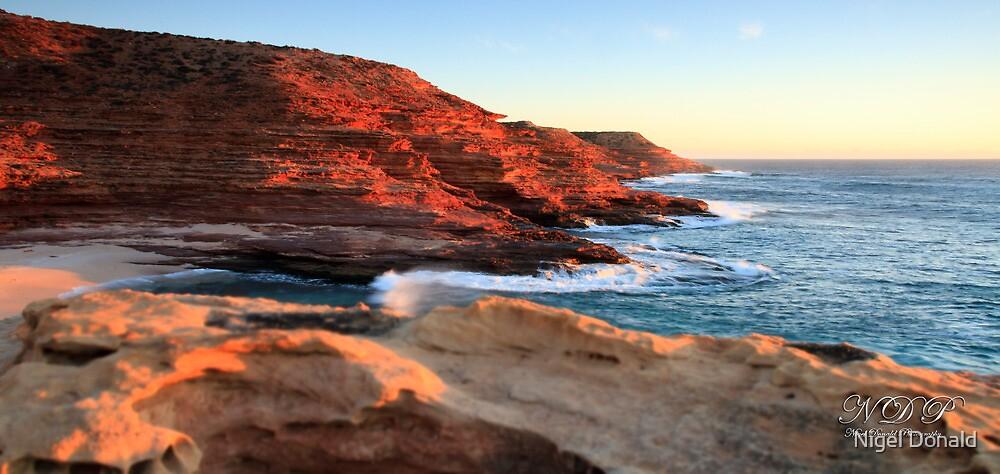 Kalbarri Cliffs, Western Australia by Nigel Donald
