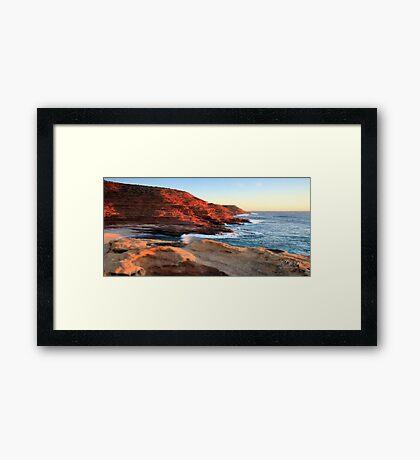 Kalbarri Cliffs, Western Australia Framed Print