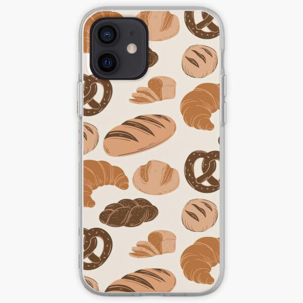 Bread Lovers Collage iPhone Soft Case