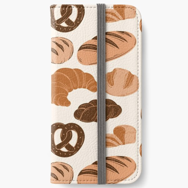 Bread Lovers Collage iPhone Wallet