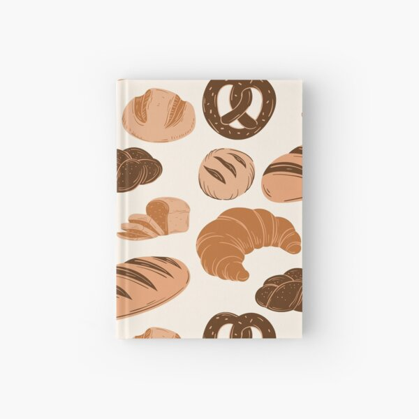 Bread Lovers Collage Hardcover Journal
