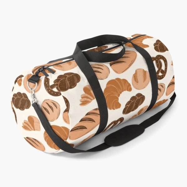 Bread Lovers Collage Duffle Bag